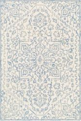 Kayseri Denim Ice Blue Hand Tufted Rug  <font color=a8bb35> NEW</font>
