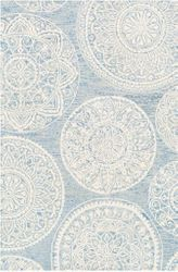 Kayseri Ice Blue Hand Tufted Rug