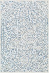 Kayseri Light Blue Hand Tufted Rug  <font color=a8bb35> NEW</font>