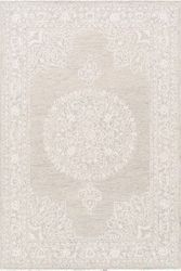 Kayseri Persian Cream Hand Tufted Rug <font color=a8bb35> NEW</font>