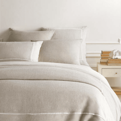 Keaton Linen Natural Duvet Cover
