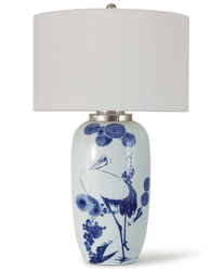 Kyoto Ceramic Table Lamp <font color=a8bb35> NEW</font>