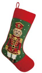 Lab Nutcracker Christmas Stocking<font color =a8bb35> Sold out</font>