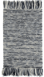 Lanka Blue Woven Wool Rug <font color=a8bb35>NEW</font>