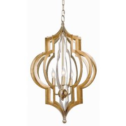 Large Pattern Makers Chandelier