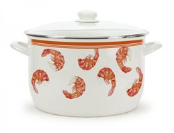 Large Shrimp 18 Quart Stock Pot