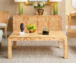 Lauren Coffee Table in Burl