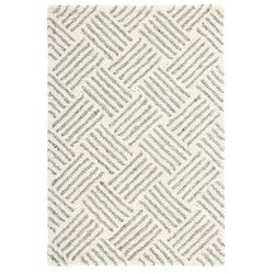 Layers Hooked Wool Rug <font color=a8bb35>NEW</font>