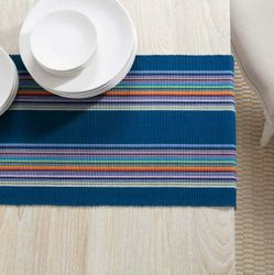 Lenox Stripe Table Runner With Napkin Option