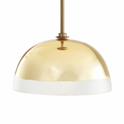 Leo Gold Pendant Light