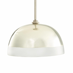 Leo Silver Pendant Light <font color=a8bb35> NEW</font>