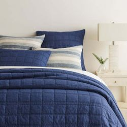 Liam Denim Quilt<font color=a8bb35> NEW</font>