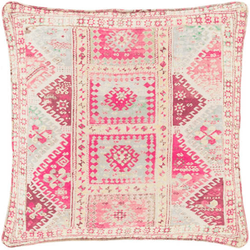 Lolita Linen Kilim Print Decorative Pillow <font color=a8bb35> NEW</font>
