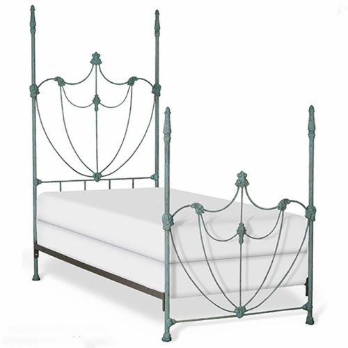 Lotus Bed with Four Posts