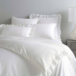 Louisa White Duvet Cover 15% Off