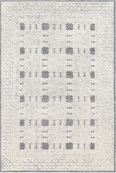 Louvre Denim Hand Tufted Rug <font color=a8bb35> NEW</font>