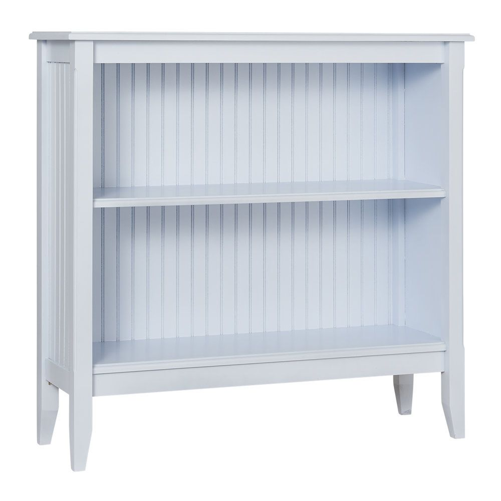 Low Wide Bookcase for Sale - Cottage & Bungalow