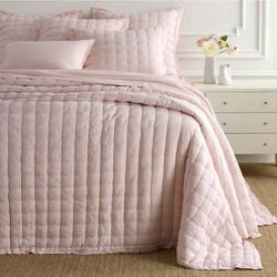 Lush Linen Slipper Pink Puff Quilt 15% Off