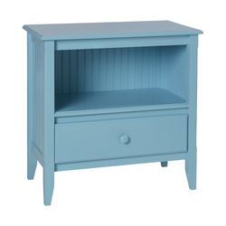 Open Top Bedside Chest