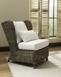 Majorica Rattan Lounge Chair