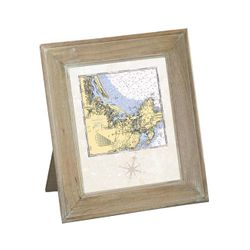 Mango Wood Frame - Customize Your Coastal Location