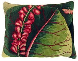 Mangrove Tree Needlepoint Pillow