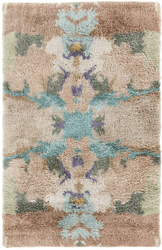 Manteo Hand Knotted Wool Rug <font color=a8bb35>NEW</font>