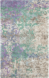 Marquesa Blue Hand Tufted Rug <font color=a8bb35> NEW</font>