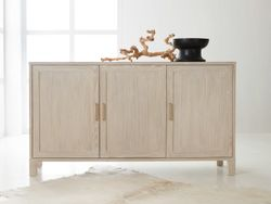 Maui Three Door Credenza  <font color=a8bb35>NEW</font>