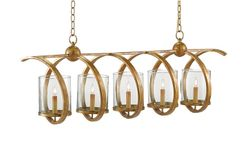 Maximus 5-Light Chandelier in Two Finishes *Backorder