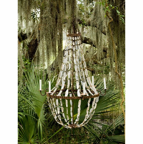 May River Large Empire Chandelier