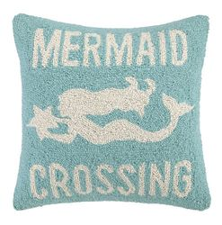 Mermaid Crossing Hooked Pillow <font color=cf2317> Sold Out</font>