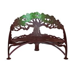 Metal Garden Tree Bench *NEW*