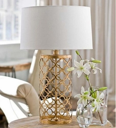 Metallic Table Lamps