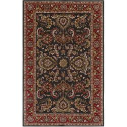 Middleton Bright Red Hand Tufted Rug <font color=a8bb35> NEW</font>