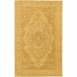 Middleton Grange Yellow  Hand Tufted Rug <font color=a8bb35> NEW</font>