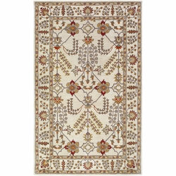 Middleton Ivory Hand Tufted Rug <font color=a8bb35> NEW</font>