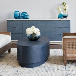 Mila Oval Coffee Table in 2 Colors