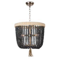 Milos Blue Black Chandelier <font color=a8bb35>NEW</font>