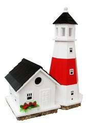 Montauk Lighthouse Birdhouse <font color=a8bb35>New</font>