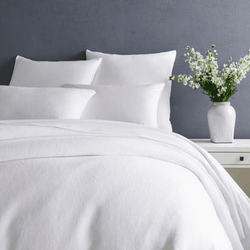 Montauk White Duvet Cover 15% Off