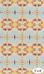 Moorehead Hand Knotted Wool Rug <font color=a8bb35>NEW</font>