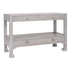 Morris Three Drawer Console Table <font color=a8bb35> NEW</font>