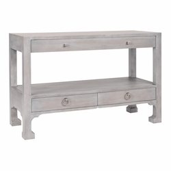 Morris Three Drawer Console Table