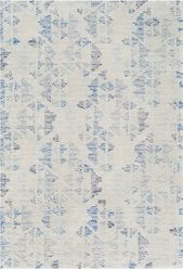 Morse Ice Blue Hand Tufted Rug  <font color=a8bb35> NEW</font>