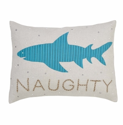 Naughty Shark Pillow