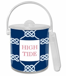 Nautical Knot Ice Bucket