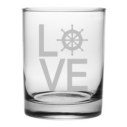 Nautical Love DOR Glass - Set of 4 *NEW