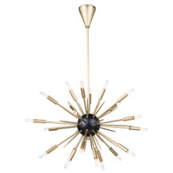 Nebula Natural Brass Chandelier Small <font color=a8bb35>NEW</font>