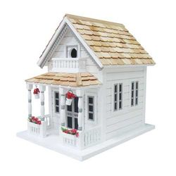 Newburyport Cottage Birdhouse <font color=a8bb35>Low Stock</font>